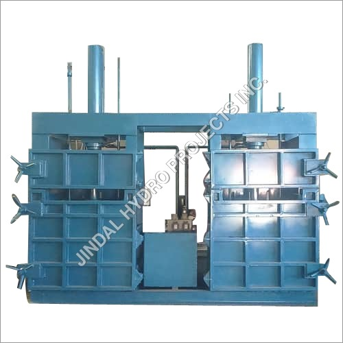 Double Cylinder Hydraulic Baling Press Machine
