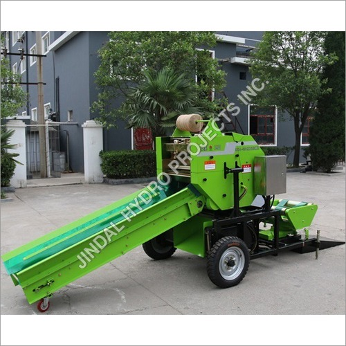 Fully Automatic Silage Baler Machine