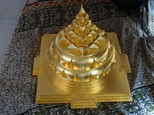 Gold Plated Shree Yantra