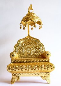 small chhatra sinhasan golden