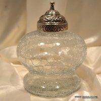 Glass Jars Peanut Butter Spread Glass Jar Quilted Crystal Mason Jar Clear Glass Honey Pot Jars