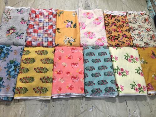 Georgette Digital Printed Fabric