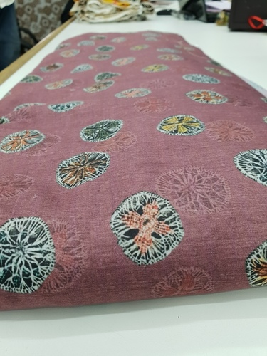Poly Maslin Printed Fabric