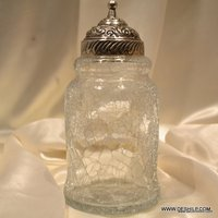 Glass Jars Quilted Crystal Mason Jar