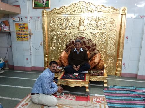 Gold Gadi Sinhasan