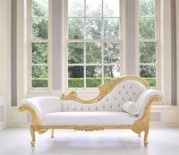 golden  white lounger