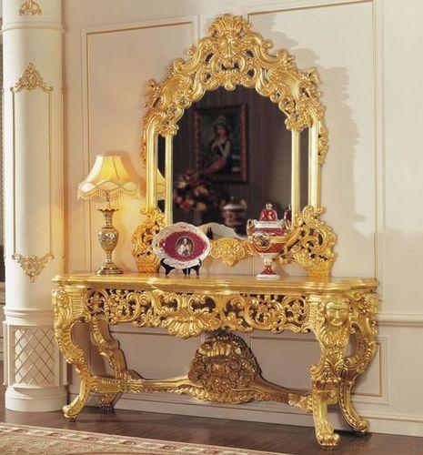 Golden Dressing Table