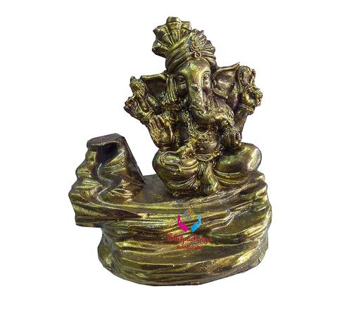 Ganesha Smoke Backflow Cone Decorative Incense Holder