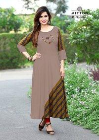 Fashion Rayon Kurtis