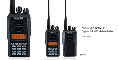 Motorola License Free Walkie Talkie Radio