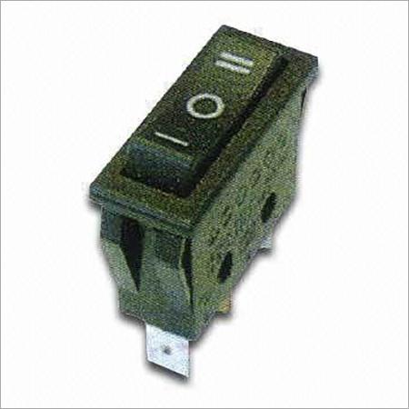 Rocker Switch with Off/On Single Pole Switch