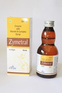 Enzyme with vitamine B-complex syrup