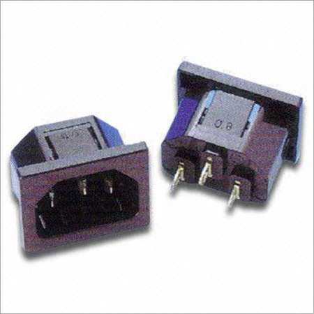 AC Power Socket with 15A250VAC Rating