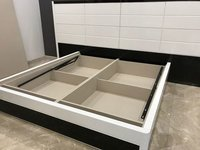 Hydraulic Double Bed with Box