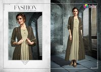 Fancy Work Rayon Kurtis