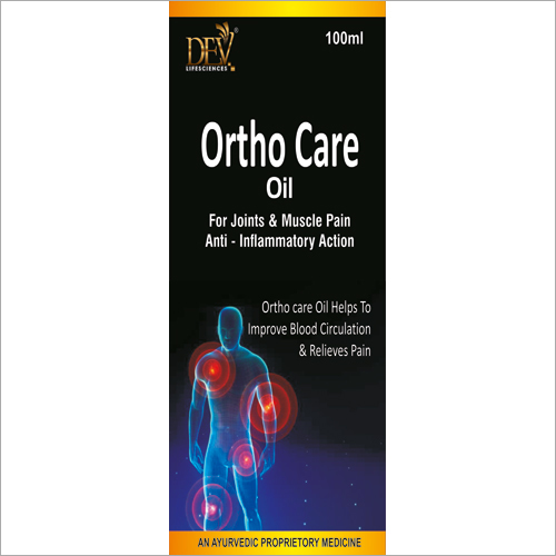 Ortho Care Oil