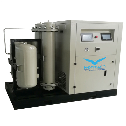 Mounted Oil Free Scroll Compressor