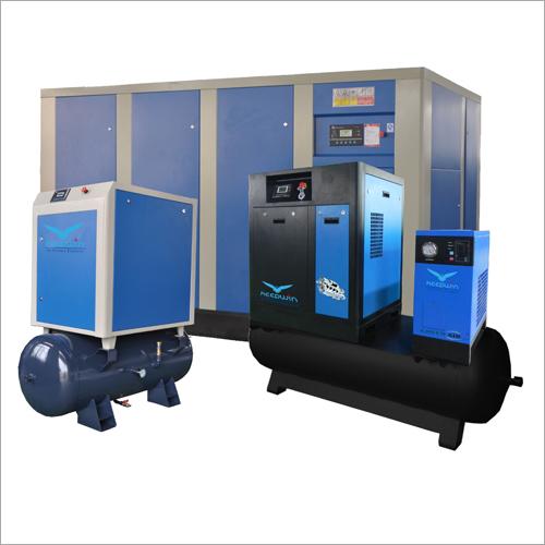 30KW Frequency VSD Screw Air Compressor 7bar 6bar 8bar 10bar 13bar pressure