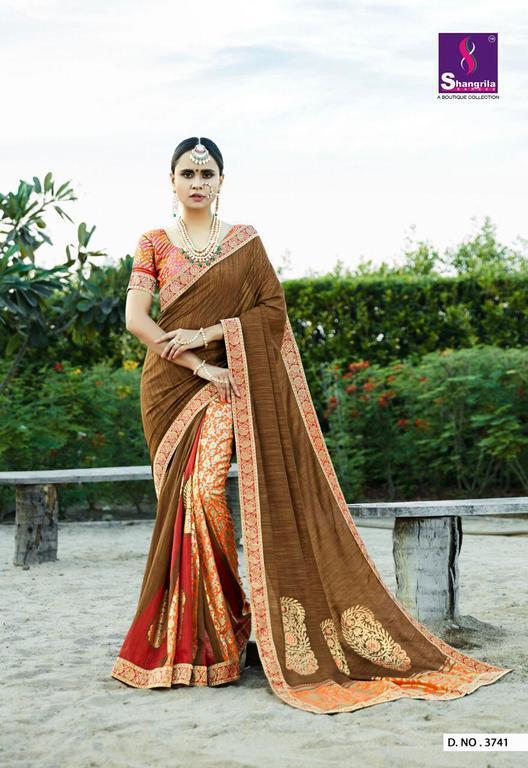 New Silky Designer Sarees