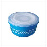 3 Pcs Set Solitaire Printed Plastic Container