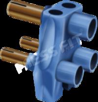 Pressfit Tejas 3 Pin Multiplug
