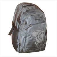 Printed School Backpack Bag