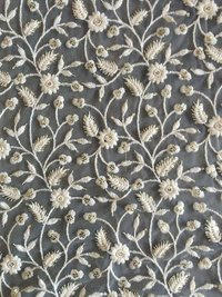 Machine Embroidery Design Work / Computer Embroidery Fabric