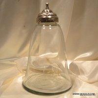 Jar Clear Glass Honey Pot Jars