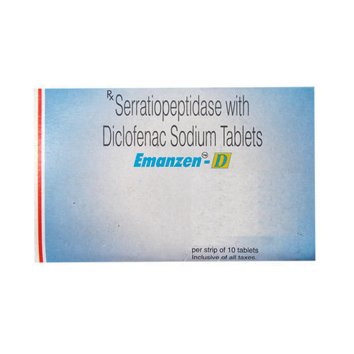 Serratiopeptidase with Diclofenac Sodium Tablets