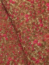 Kashmiri Work Fabric