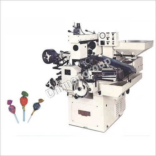 Lollipop Double Twist Wrap Machine