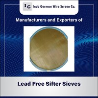 LEAD FREE TURBO SIFTER SIEVES