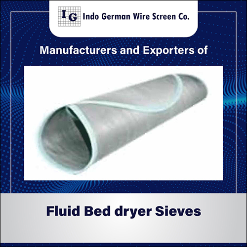 Fluid Bed Dryer Sieves