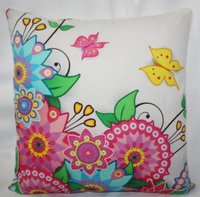 Multicolor Printed Cushion Cover