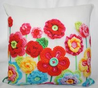 Croshia Print Cushion Cover