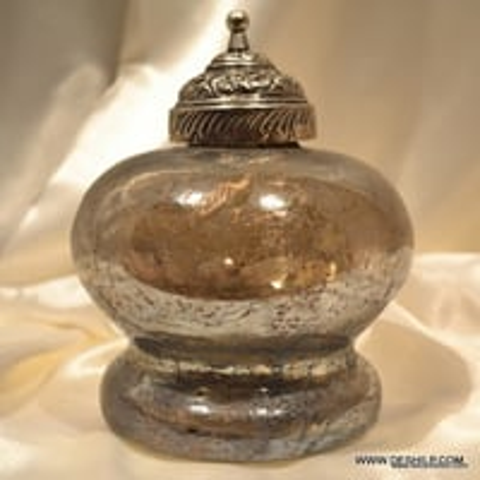 Antique Shape Glass Jar & Canisters