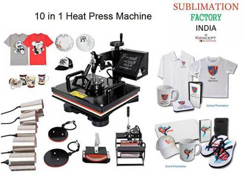 10 in 1 Heat Press Machine