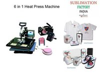6 in 1 Combo Heat Press Machine