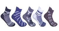 Men's Classic Cushion Ankle Length Socks - 3 Pair - (Brand Outlet)