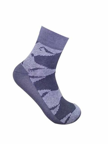 Men's Cotton Solid Ankle Socks