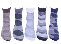 Men's Cotton Solid Ankle Socks