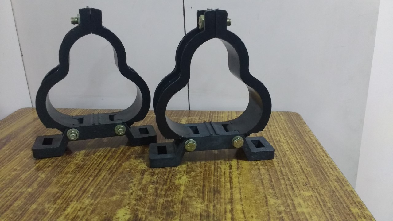 Glass Fibre Filled Trefoil Clamp