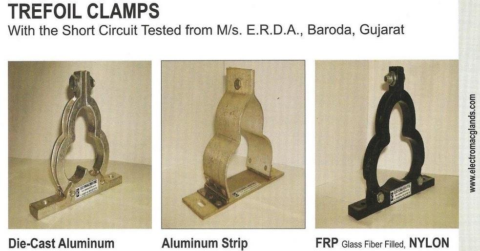 FRP Fiberglass Trefoil Clamp