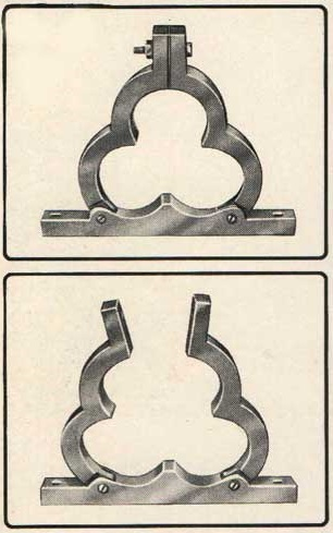 Trefoil Cable Clamps