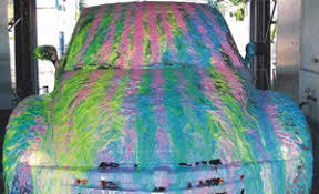 CAR COLOUR  FOAM WASH