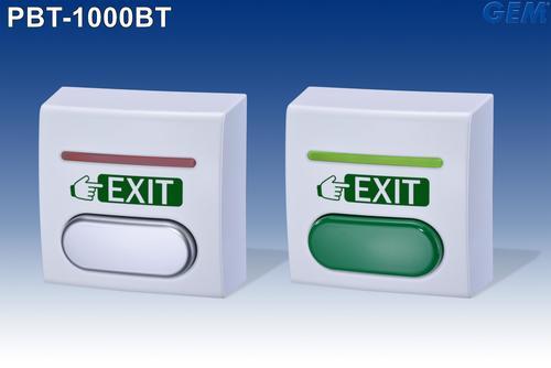Euro size BlueSwitch push button: PBT-1000BT