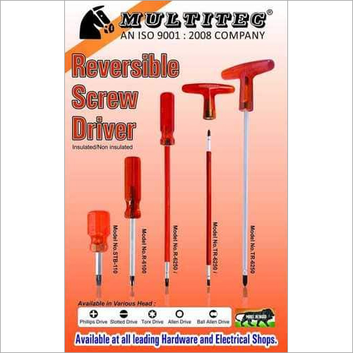 Reversible Screw Driver