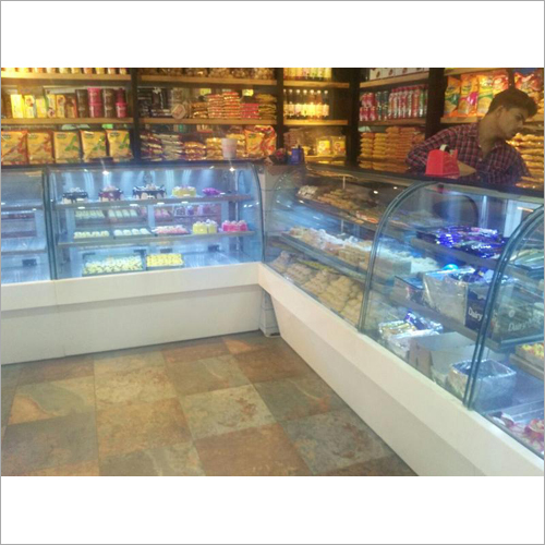 Shop Glass Display Counter
