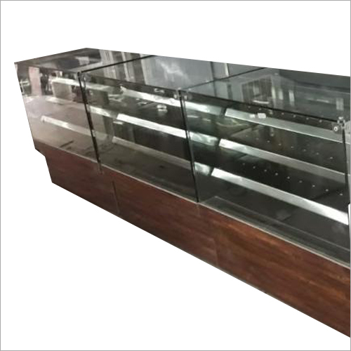 Glass Display Shelf Counter