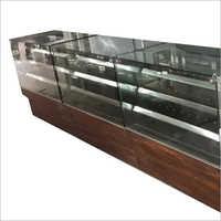 Glass Display Shelf Counter